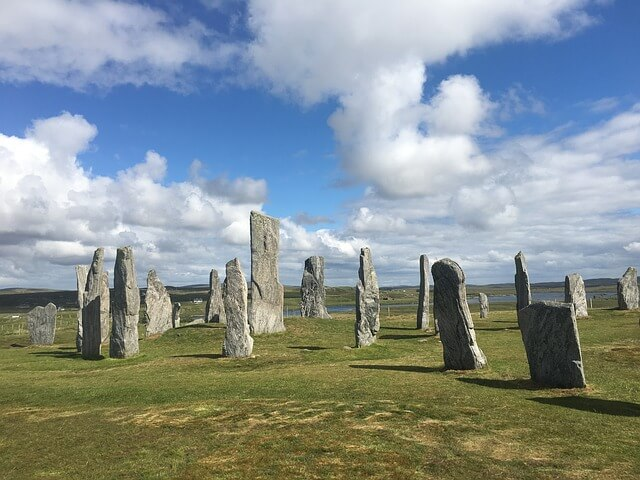 Standing Stones on Isle of Lewis